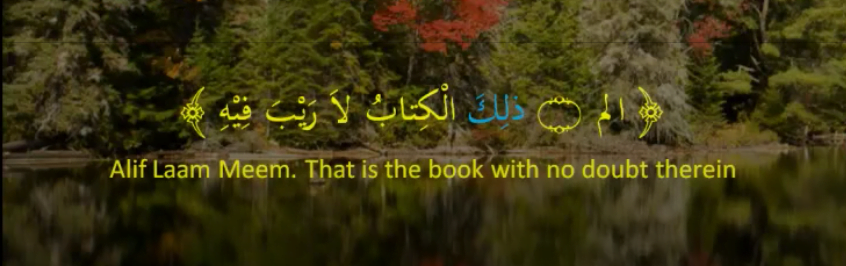 Quranic example where an ism al isharah is used to show distance in rank