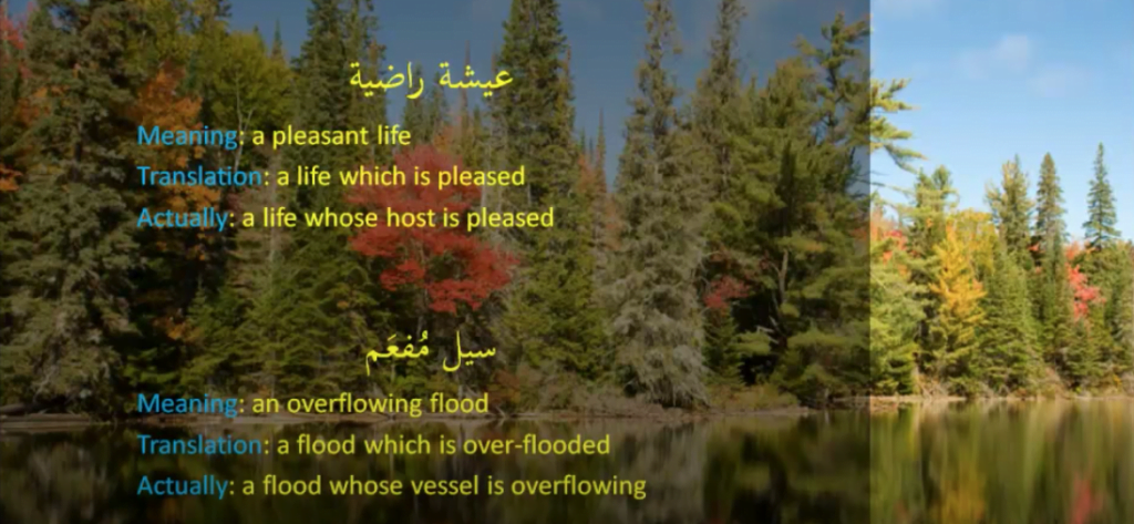 Quranic examples