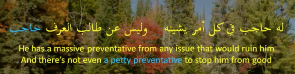 tanween of scarcity or making a word indefinite in Arabic for scarcity