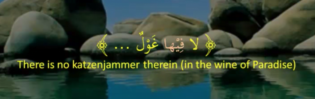 Quranic example of a fronted predicate in Arabic for the purpose of restriction