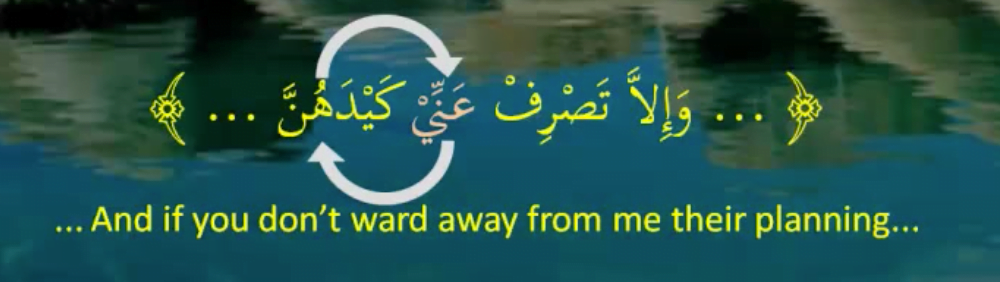 Example of Integral prepositional phrase in Arabic